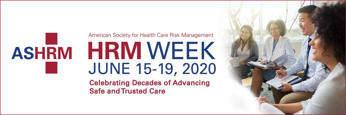 ASHRM HRM Week Banner