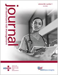 ASHRM Journal 40-1